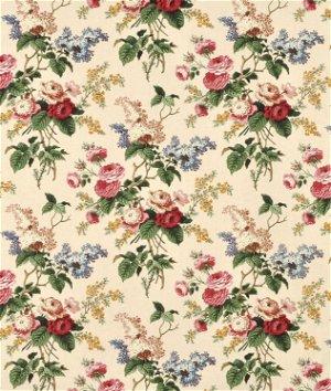 Waverly Emma's Garden Jewel Fabric