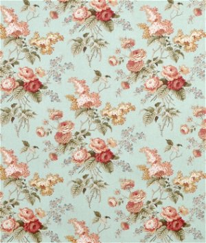Waverly Emma's Garden Mist Fabric