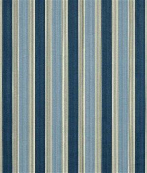 Waverly Spotswood Stripe Porcelain Fabric