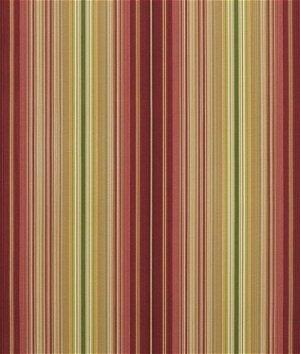 Waverly Serene Stripe Sun N Shade Cinnabar Fabric