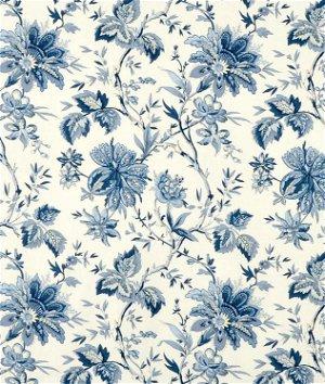Waverly Felicite Indigo Fabric