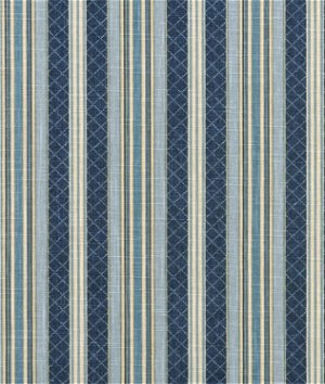 Waverly Etienne Indigo Fabric