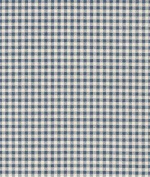 Waverly Cheerful Check Chambray Fabric