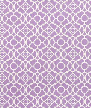 Waverly Lovely Lattice Violet Fabric