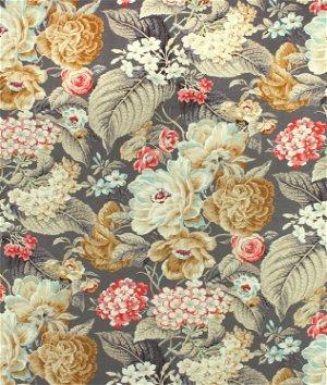 Waverly Floral Flourish Clay Fabric