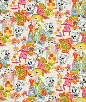 Alexander Henry Los Novios Tea Dye Fabric