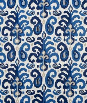 Suburban Home Rasul Blue Fabric