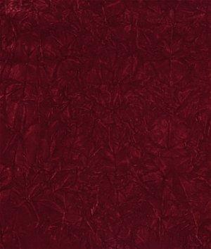 Suede Upholstery Fabric >> Burgundy Crushed Flocked Velvet Fabric | OnlineFabricStore.net