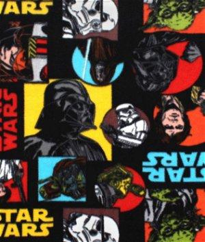 Star Wars Pop Art Fleece Fabric