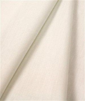 Roclon Econosheen Ivory Drapery Lining Fabric