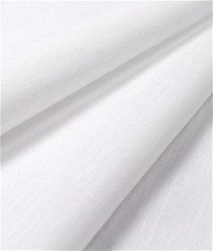 Roclon Econosheen White Drapery Lining Fabric
