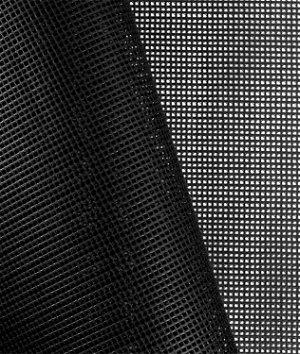 Black 9x9 Vinyl Coated Mesh Fabric