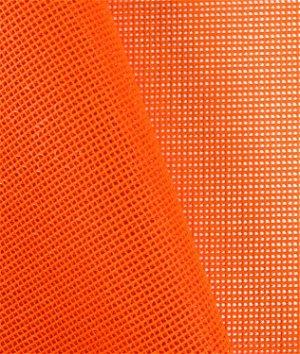 Visi-Guard Fluorescent Orange 9x9 Vinyl Coated Mesh Fabric