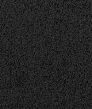 Black Terry Cloth Fabric