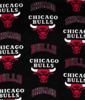 Chicago Bulls NBA Fleece Fabric
