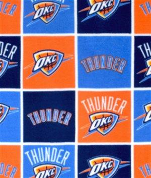 Oklahoma City Thunder NBA Fleece Fabric