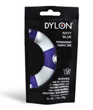 Dylon Permanent Fabric Dye - Navy