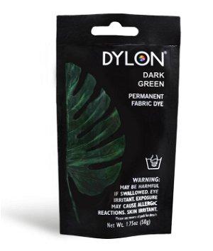 Dylon Permanent Fabric Dye - Dark Green