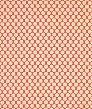Amy Butler Full Moon Polka Dot Cherry Fabric