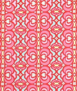 Amy Butler Garden Maze Red Fabric