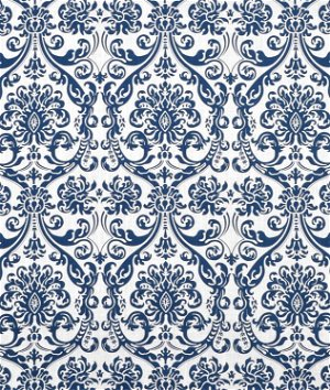 Premier Prints Abigail Navy Drew Fabric