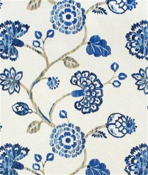 Richloom Ampersand Cobalt Fabric