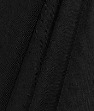 6 Oz Black Poly Spandex Fabric