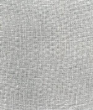 Silver Linen Scrim Fabric