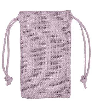 "3"" x 5"" Lavender Jute Favor Bags - 12 Pack"