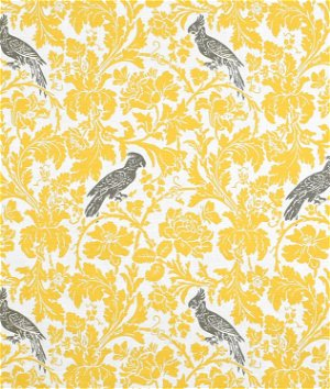 Premier Prints Barber Corn Yellow/Kelp Slub Fabric