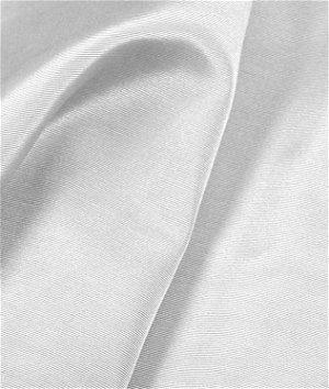 White Bengaline Faille Fabric