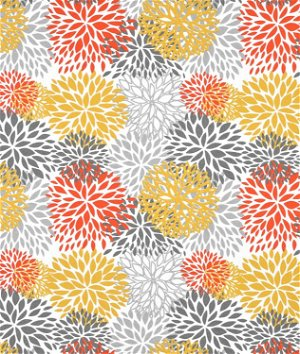 Premier Prints Outdoor Blooms Citrus Fabric