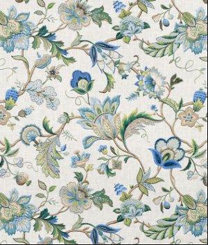 P. Kaufmann Brissac Sapphire Fabric