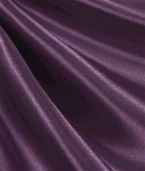 Dark Plum Satin Fabric