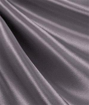 Charcoal Satin Fabric