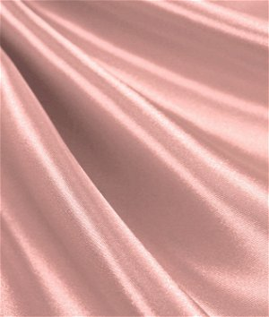 Blush Satin Fabric