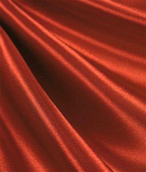 Rust Satin Fabric