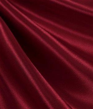 Cranberry Satin Fabric