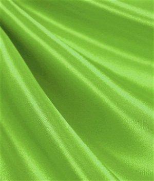 Lime Green Satin Fabric