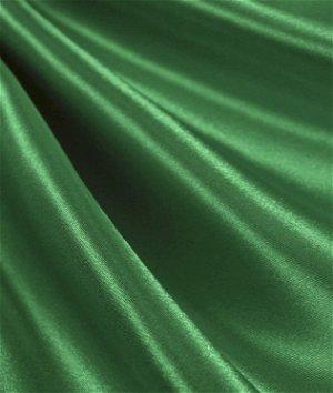 Flag Green Satin Fabric