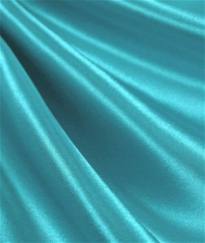 Aqua Satin Fabric