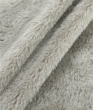 Gray Bear Skin Fabric