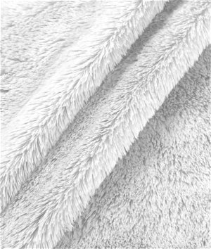 White Bear Skin Fabric