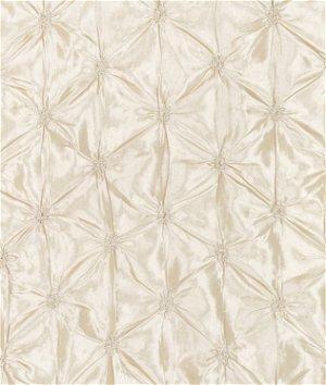 Ivory Button Taffeta Fabric