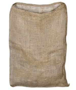 18 x 30 Hydrocarbon Free Burlap Bag