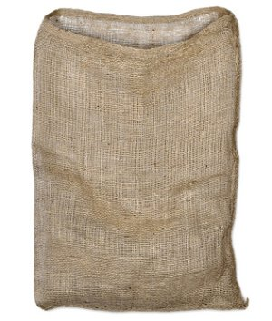27 x 40 Hydrocarbon Free Burlap Bag