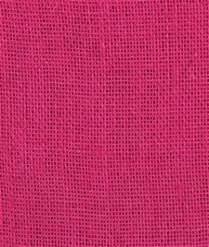 Fuchsia Burlap Fabric