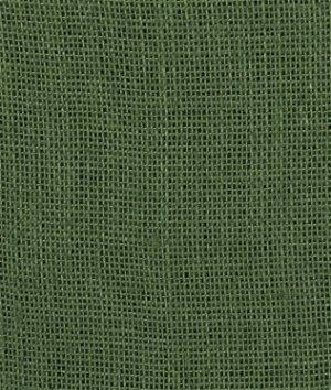 Hunter Green Burlap Fabric