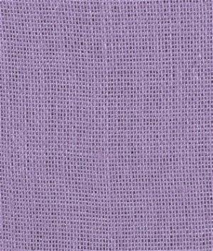 Violet Burlap Fabric
