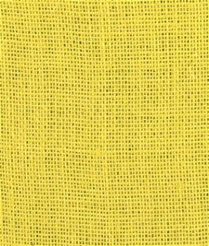 Yellow Burlap Fabric
